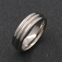 Classic Titanium Ring - Photon