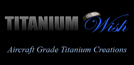Titanium Wish - Titanium Rings, Promise Rings, Wedding Bands, Titanium Ring with Diamond, Ruby and Sapphire.
